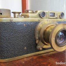 Cámara de fotos: FED SOVIÉTICA COPIA DE LA CÁMARA DE FOTOS LEICA ALEMANA EJERCITO II GUERRA MUNDIAL III REICH ALEMÁN. Lote 173808000