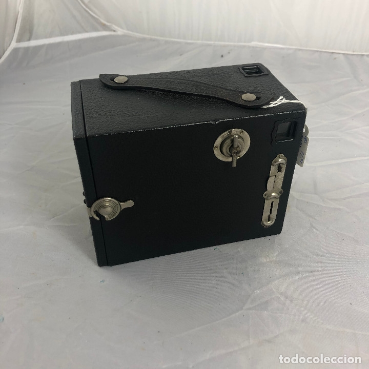 Cámara de fotos: ANTIGUA CAMARA FOTOGRAFICA, EUSING BOX, 2 1/4 B. MADE IN ENGLAND LONDON - Foto 5 - 174080810