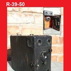 Cámara de fotos: ANTIGUA Y GRAN CÁMARA DE DETECTIVE O REPORTERO MUY ESCASA Y RARA DE PLACAS. Lote 113853187