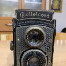 Cámara de fotos: ROLLEICORD ART DECÓ. Lote 175646249