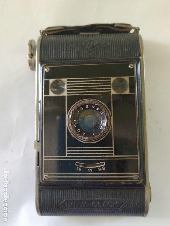 Cámara de fotos: Cámara agfa Billy clack 51. Art deco. 1936. Funciona - Foto 2 - 176260818