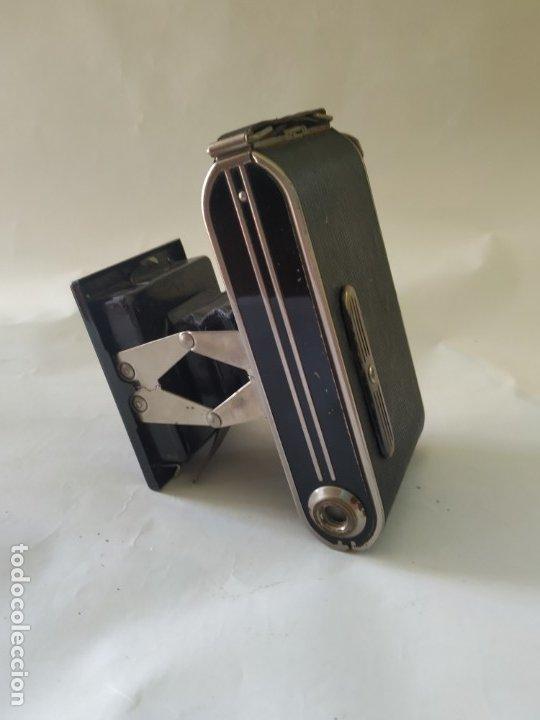 Cámara de fotos: Cámara agfa Billy clack 51. Art deco. 1936. Funciona - Foto 3 - 176260818