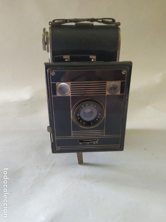 Cámara de fotos: Cámara agfa Billy clack 51. Art deco. 1936. Funciona - Foto 5 - 176260818