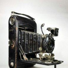 Cámara de fotos: CÁMARA FUELLE NO. 3 AUTOGRAPHIC KODAK SPECIAL MODEL A CON FUNDA. Lote 176445154