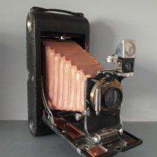 Cámara de fotos: KODAK DE FUELLE ROJO Nª.3-A MODEL B-2 -RARA GRANDE. Lote 176836047