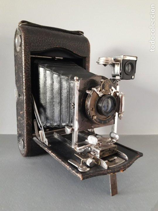 MAGNIFICA KODAK FOLDING POCKET Nº 3, MODELO G. (Cámaras Fotográficas - Antiguas (hasta 1950))