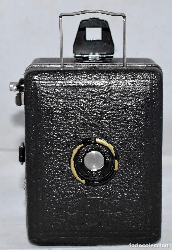 Cámara de fotos: PRECIOSA..BOX MINIATURA..ZEISS IKON BABY BOX 54/18+FUNDA..ALEMANIA 1930.. BUEN ESTADO..FUNCIONA. - Foto 5 - 177506612