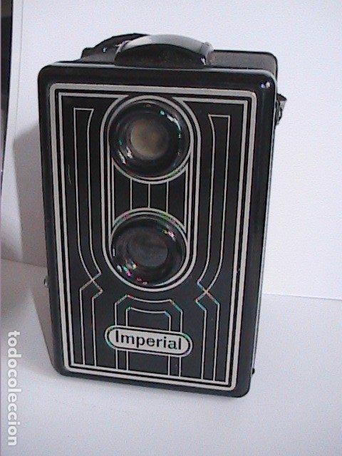 CÁMARA FOTOGRÁFICA BRAUN IMPERIAL BOX 6X6 S. 1951. NUREMBERG. ALEMANIA. (Cámaras Fotográficas - Antiguas (hasta 1950))