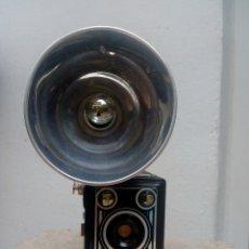 Cámara de fotos: AGFA SYNCHRO BOX DIFICIL DE COMSEGUIR COMPLETA. Lote 177885900