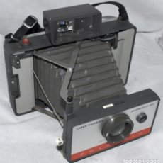 Cámara de fotos: FUELLE GRIS, TELEMETRICA,POLAROID LAND AUTOMATIC 104.USA 1965.MUY BUEN ESTADO.FUNCIONA. Lote 178345155