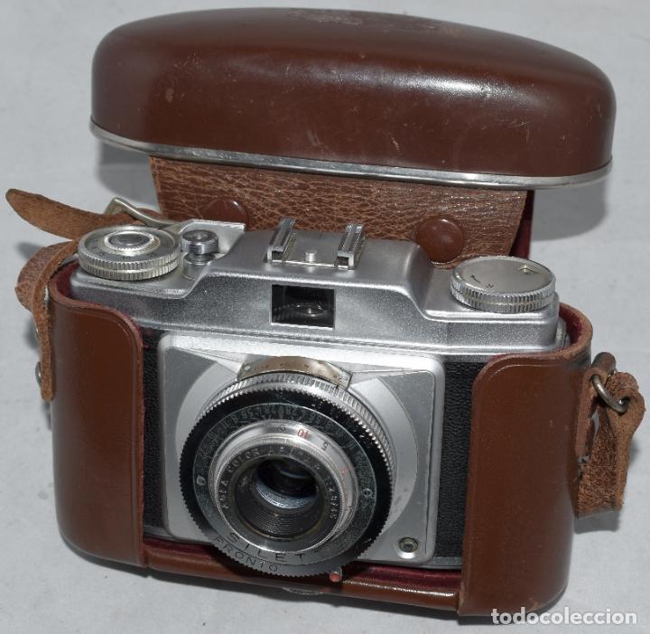 Cámara de fotos: CLASICA, 35 mm. CALIDAD..AGFA SILETTE, PRIMER MODELO TIPO 1..ALEMANIA 1953..CON FUNDA..FUNCIONA.GOOD - Foto 8 - 178345993