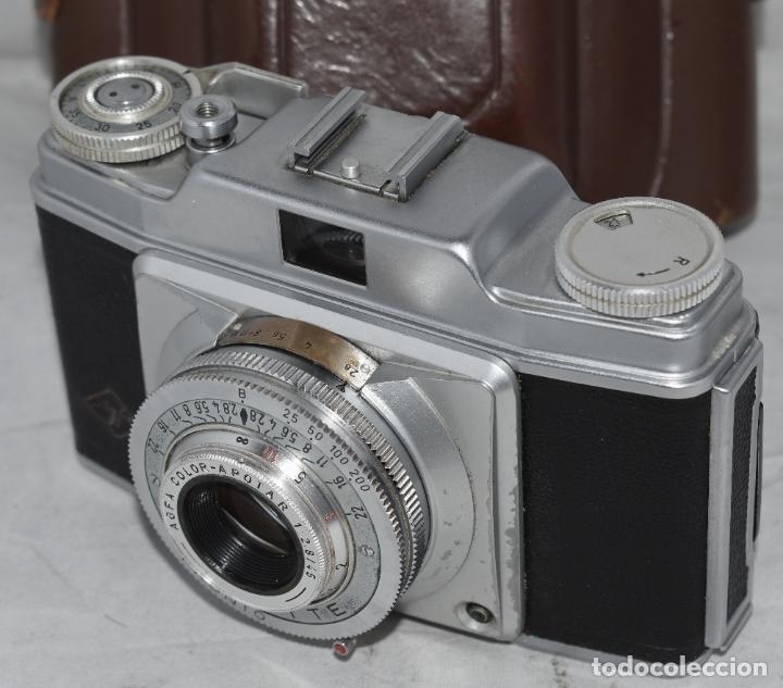 Cámara de fotos: CLASICA, 35 mm. CALIDAD..AGFA SILETTE, PRIMER MODELO TIPO 1..ALEMANIA 1953..CON FUNDA..FUNCIONA.GOOD - Foto 11 - 178345993