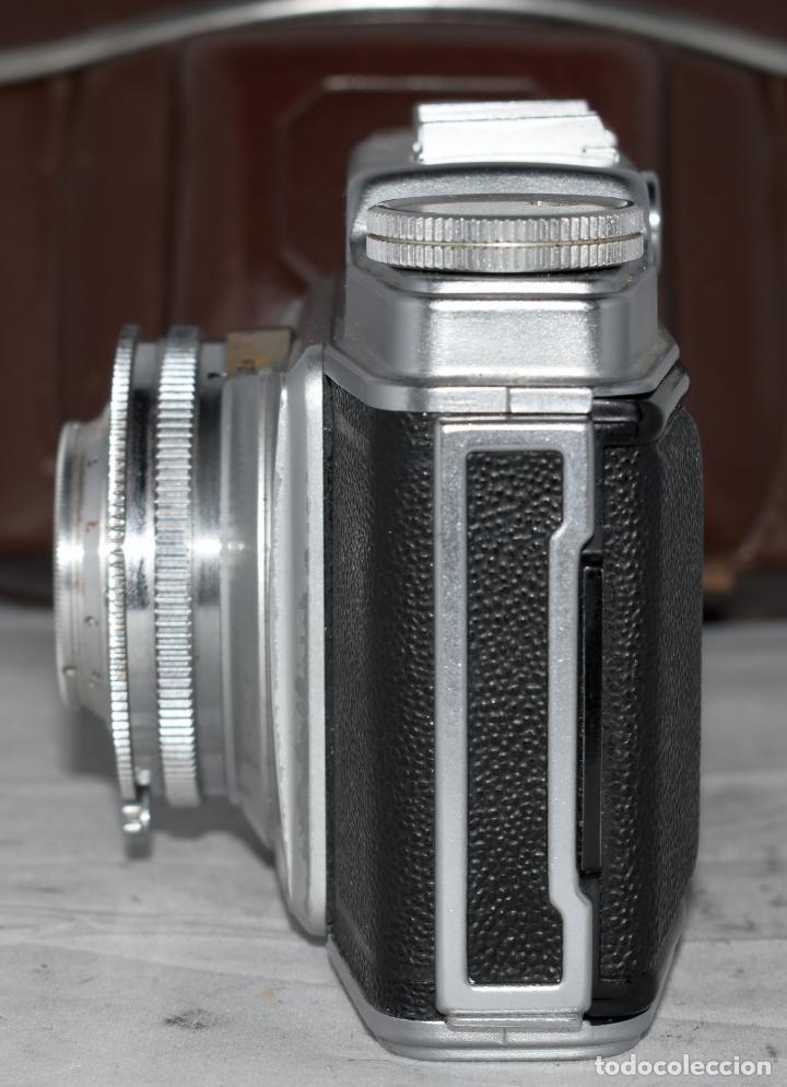 Cámara de fotos: CLASICA, 35 mm. CALIDAD..AGFA SILETTE, PRIMER MODELO TIPO 1..ALEMANIA 1953..CON FUNDA..FUNCIONA.GOOD - Foto 13 - 178345993
