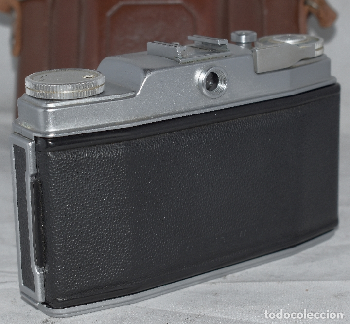 Cámara de fotos: CLASICA, 35 mm. CALIDAD..AGFA SILETTE, PRIMER MODELO TIPO 1..ALEMANIA 1953..CON FUNDA..FUNCIONA.GOOD - Foto 14 - 178345993