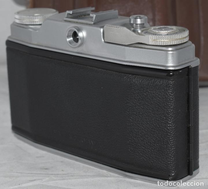 Cámara de fotos: CLASICA, 35 mm. CALIDAD..AGFA SILETTE, PRIMER MODELO TIPO 1..ALEMANIA 1953..CON FUNDA..FUNCIONA.GOOD - Foto 15 - 178345993