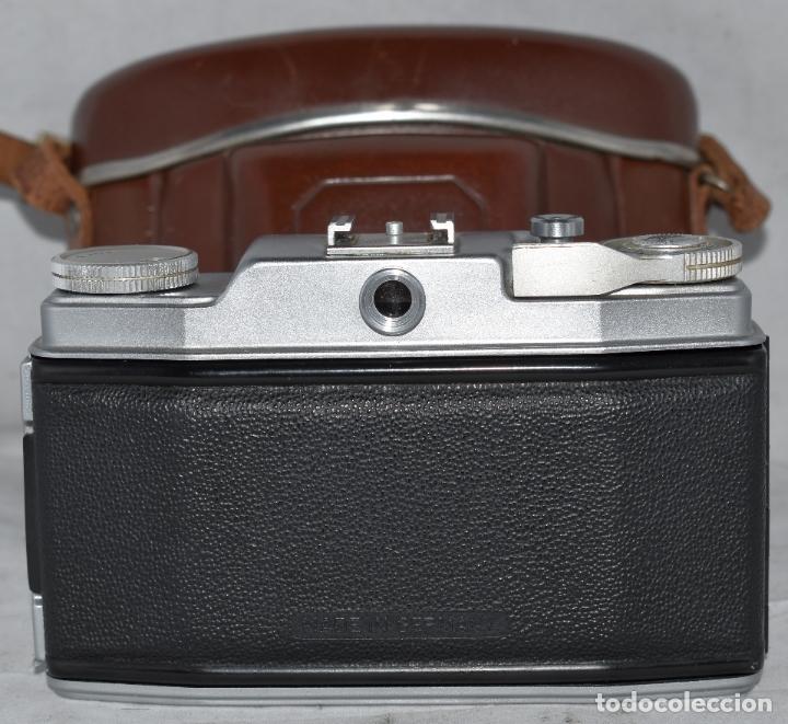 Cámara de fotos: CLASICA, 35 mm. CALIDAD..AGFA SILETTE, PRIMER MODELO TIPO 1..ALEMANIA 1953..CON FUNDA..FUNCIONA.GOOD - Foto 16 - 178345993