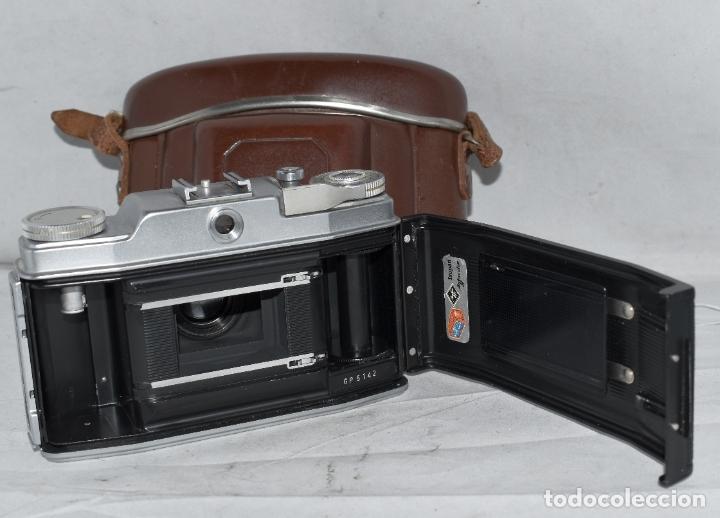 Cámara de fotos: CLASICA, 35 mm. CALIDAD..AGFA SILETTE, PRIMER MODELO TIPO 1..ALEMANIA 1953..CON FUNDA..FUNCIONA.GOOD - Foto 19 - 178345993
