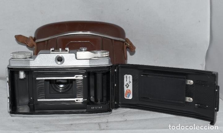 Cámara de fotos: CLASICA, 35 mm. CALIDAD..AGFA SILETTE, PRIMER MODELO TIPO 1..ALEMANIA 1953..CON FUNDA..FUNCIONA.GOOD - Foto 20 - 178345993