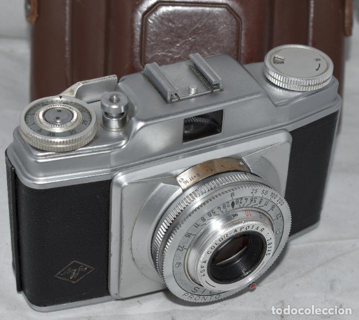 CLASICA, 35 MM. CALIDAD..AGFA SILETTE, PRIMER MODELO TIPO 1..ALEMANIA 1953..CON FUNDA..FUNCIONA.GOOD (Cámaras Fotográficas - Antiguas (hasta 1950))