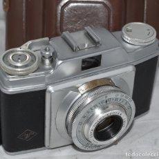 Cámara de fotos: CLASICA, 35 MM. CALIDAD..AGFA SILETTE, PRIMER MODELO TIPO 1..ALEMANIA 1953..CON FUNDA..FUNCIONA.GOOD. Lote 178345993