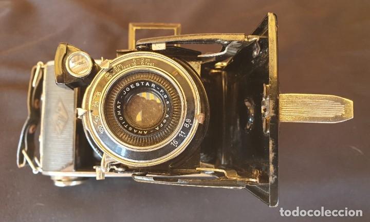 Cámara de fotos: Cámara de fuelle Agfa Mod. Billy Record, con su funda de piel - Foto 3 - 178858943