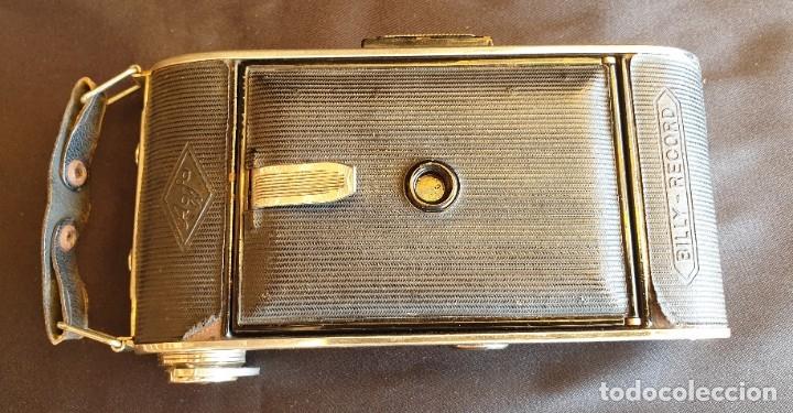 Cámara de fotos: Cámara de fuelle Agfa Mod. Billy Record, con su funda de piel - Foto 9 - 178858943