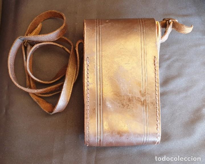 Cámara de fotos: Cámara de fuelle Agfa Mod. Billy Record, con su funda de piel - Foto 11 - 178858943