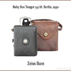 Cámara de fotos: ZEISS IKON BABY BOX (VERSION 54/18) PEQUEÑA Y LLAMATIVA CAMARA ALEMANA DE 1930. EN MUY BUEN ESTADO.. Lote 178915665