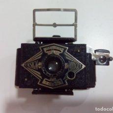 Cámara de fotos: CÁMARA DE FOTOS ENSIGN MIDGET+FUNDA ORIGINAL. Lote 179309832