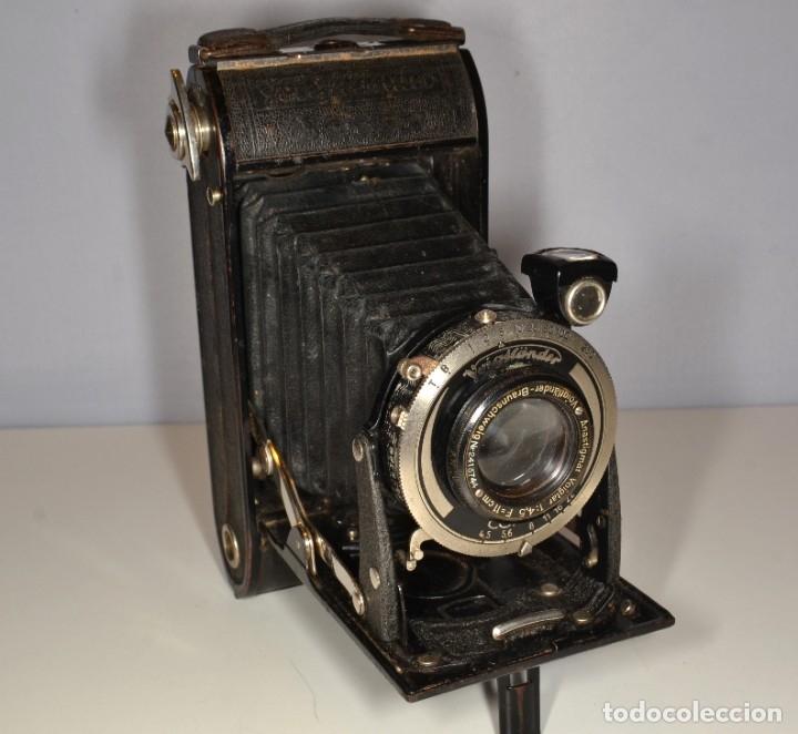 Cámara de fotos: Cámara Voigtlander Bessa - Ref. 1672/3 - Foto 10 - 180051453