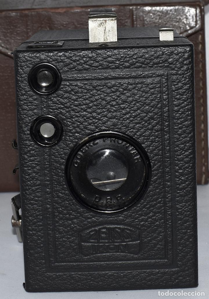 Cámara de fotos: CALIDAD.ZEISS IKON BOX TENGOR 54/2+FUNDA+FILM.PRIMER MODELO.ALEMANIA 1926.MUY BUEN ESTADO.FUNCIONA - Foto 5 - 180094656
