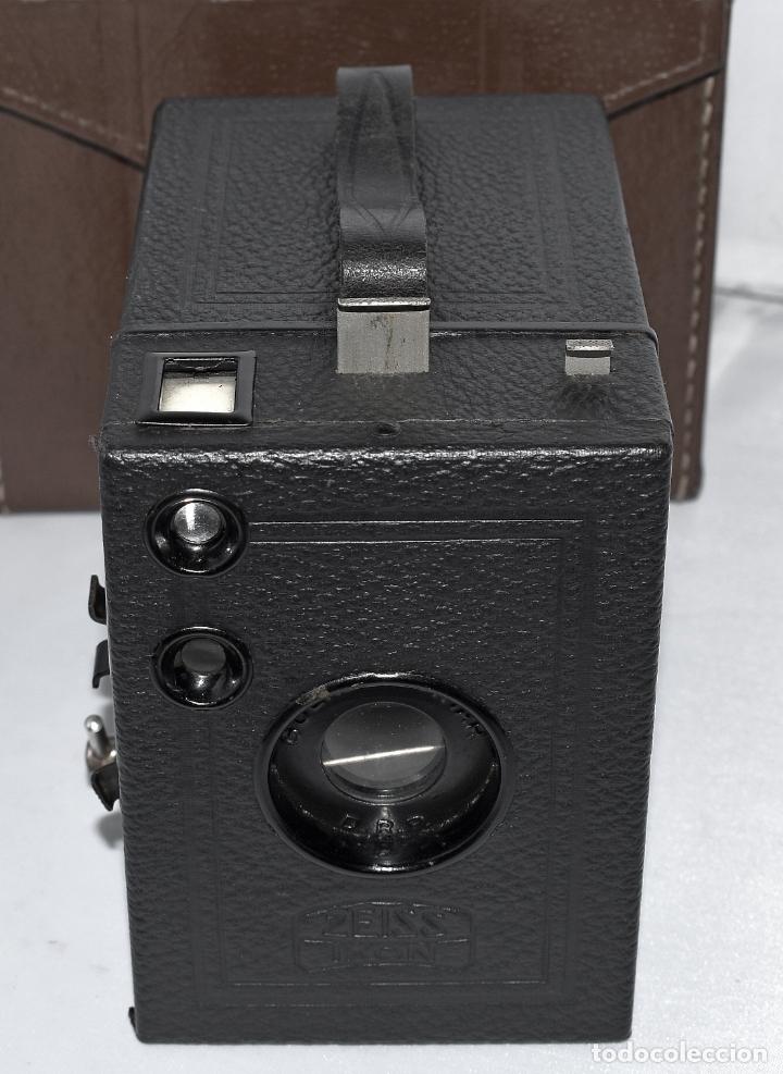 Cámara de fotos: CALIDAD.ZEISS IKON BOX TENGOR 54/2+FUNDA+FILM.PRIMER MODELO.ALEMANIA 1926.MUY BUEN ESTADO.FUNCIONA - Foto 8 - 180094656