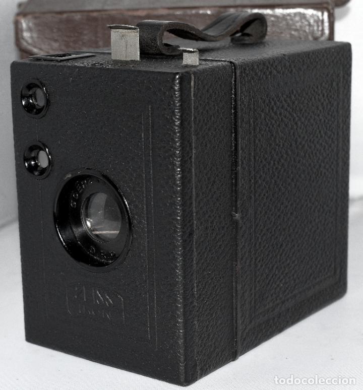 Cámara de fotos: CALIDAD.ZEISS IKON BOX TENGOR 54/2+FUNDA+FILM.PRIMER MODELO.ALEMANIA 1926.MUY BUEN ESTADO.FUNCIONA - Foto 9 - 180094656