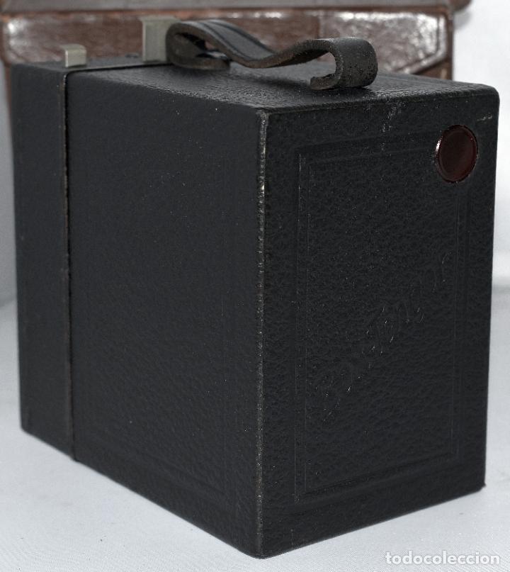 Cámara de fotos: CALIDAD.ZEISS IKON BOX TENGOR 54/2+FUNDA+FILM.PRIMER MODELO.ALEMANIA 1926.MUY BUEN ESTADO.FUNCIONA - Foto 11 - 180094656
