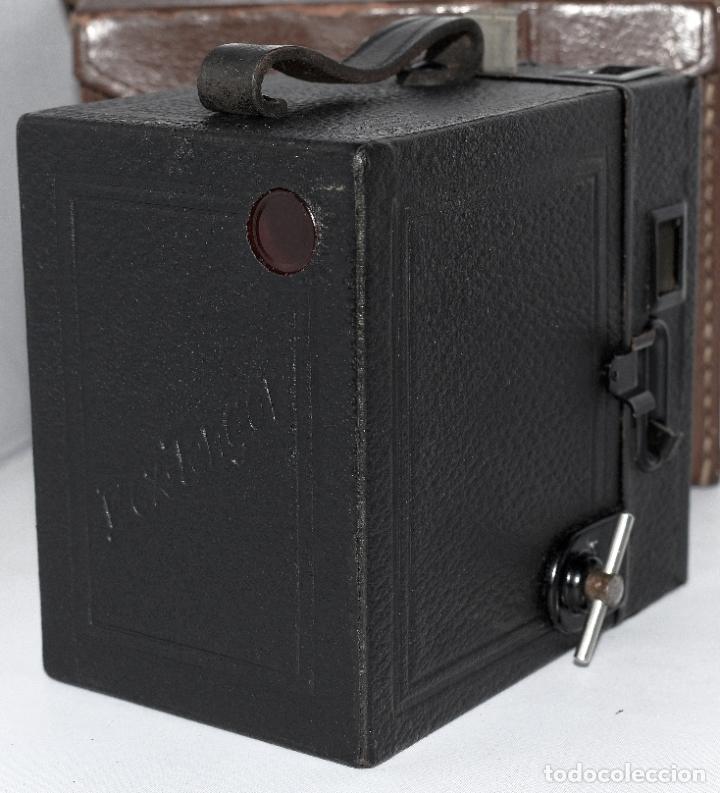 Cámara de fotos: CALIDAD.ZEISS IKON BOX TENGOR 54/2+FUNDA+FILM.PRIMER MODELO.ALEMANIA 1926.MUY BUEN ESTADO.FUNCIONA - Foto 13 - 180094656