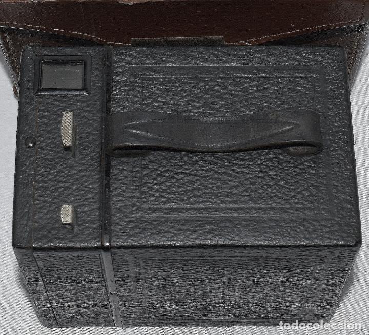 Cámara de fotos: CALIDAD.ZEISS IKON BOX TENGOR 54/2+FUNDA+FILM.PRIMER MODELO.ALEMANIA 1926.MUY BUEN ESTADO.FUNCIONA - Foto 15 - 180094656