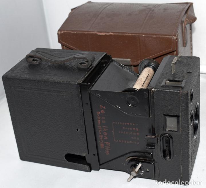 Cámara de fotos: CALIDAD.ZEISS IKON BOX TENGOR 54/2+FUNDA+FILM.PRIMER MODELO.ALEMANIA 1926.MUY BUEN ESTADO.FUNCIONA - Foto 16 - 180094656