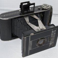 Cámara de fotos: III REICH..CAMARA ANTIGUA DE FUELLE ART DECÓ..AGFA BILLY CLACK..ALEMANIA 1934..BUEN ESTADO..FUNCIONA. Lote 180191890