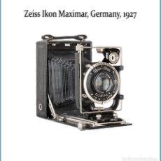 Cámara de fotos: ZEISS IKON MAXIMAR, VERSION 207/3. ATRACTIVA CAMARA PLEGABLE ALEMANA DE 1927. CON ASPECTO DE NUEVA. Lote 180321360