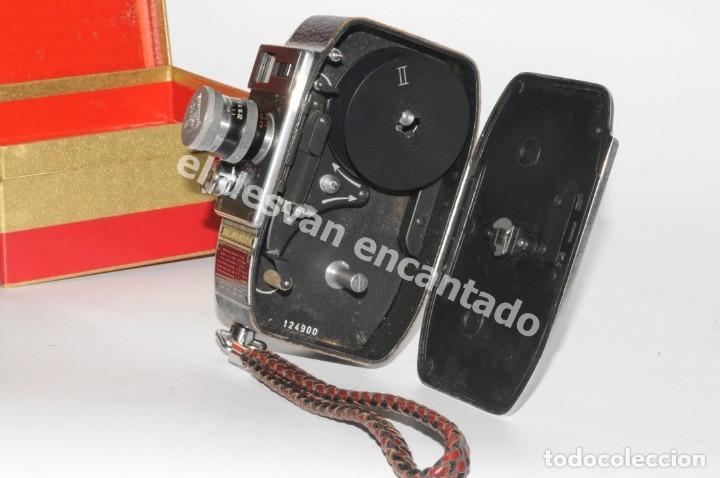 FILMADORA BOLEX PALLARD. MODELO L8 (Cámaras Fotográficas - Antiguas (hasta 1950))