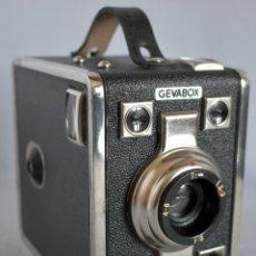 Cámara de fotos: RAREZA DE CAJON...BELGICA 1951..GEVAERT GEVABOX 6X9..MUY BUEN ESTADO ..FUNCIONA..OCASION. Lote 181504421