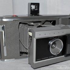 Cámara de fotos: ENORME, IMPRESIONANTE..INSTANTANEA Y FUELLE ..POLAROID LAND J-66.USA 1961..MUY BUEN ESTADO..FUNCIONA. Lote 181570032