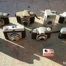 Cámara de fotos: LOTE DE 9 CAMARAS ANTIGUAS. Lote 182224911