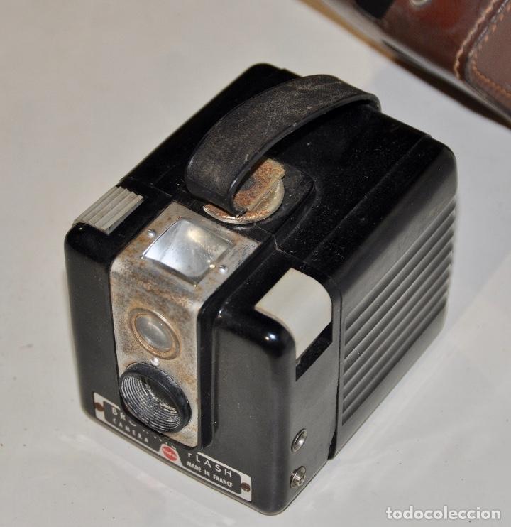 Cámara de fotos: Kodak Brownie Flash años 50 - Foto 5 - 182395707