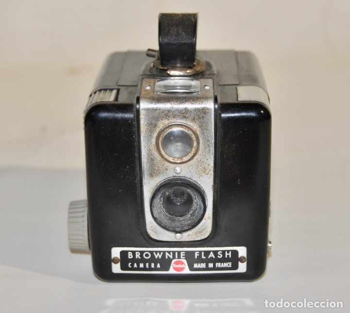 Cámara de fotos: Kodak Brownie Flash años 50 - Foto 8 - 182395707