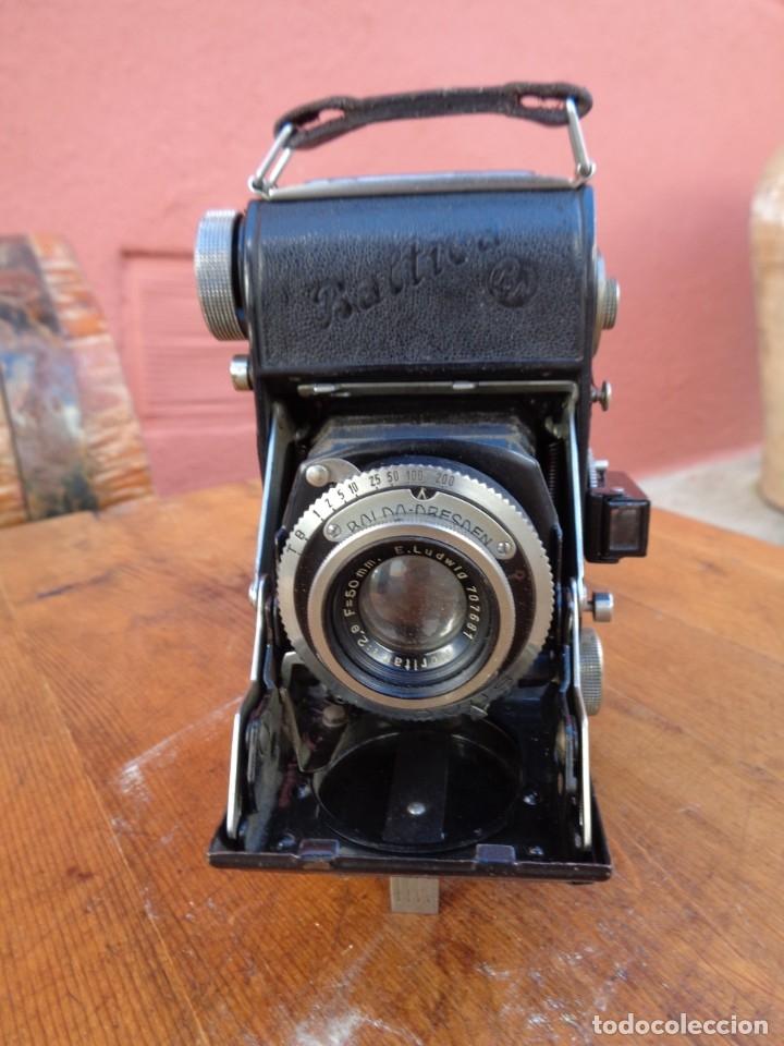 CAMARA DE FOTOGRÁFICA DE FUELLE, ANTIGUA ALEMAN - BALTICA - BALDA DRESDEN - (Cámaras Fotográficas - Antiguas (hasta 1950))