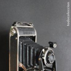 Cámara de fotos: VOIGTLANDER BESSA + FUNDA DE CUERO. Lote 182995657