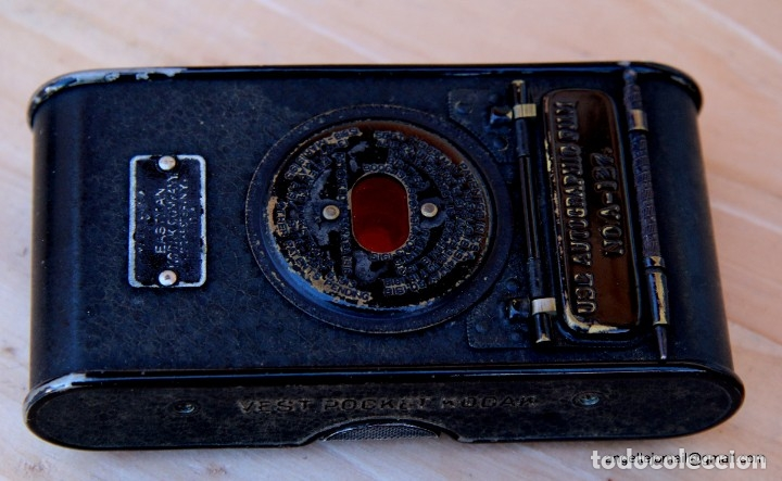 Cámara de fotos: Folding Vest Pocket Kodak.Autographic. A127 - Foto 3 - 183311532