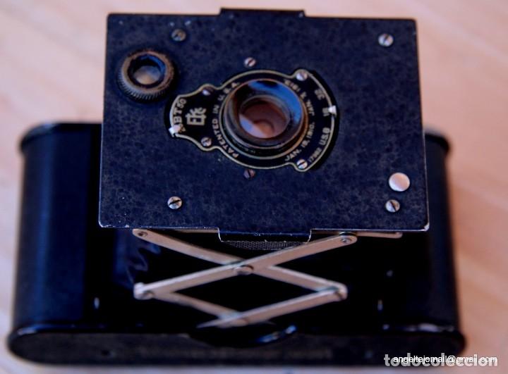 Cámara de fotos: Folding Vest Pocket Kodak.Autographic. A127 - Foto 4 - 183311532