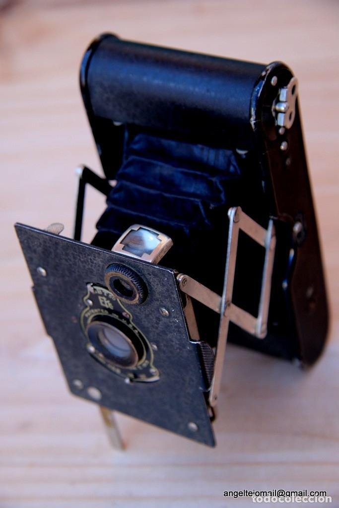 Cámara de fotos: Folding Vest Pocket Kodak.Autographic. A127 - Foto 6 - 183311532